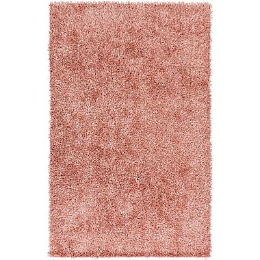 Ebern Designs Ochoa Pastel Pink Rug; 2' x 3'