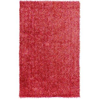 Ebern Designs Ochoa Hot Pink Rug; 2' x 3'