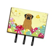 The Holiday Aisle Easter Eggs Mastiff Leash or Key Holder; Brown