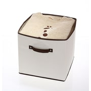Winston Porter Closet Dresser Drawer Foldable Fabric Storage Bin; Large