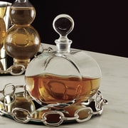 Global Views Round Glass Decanter
