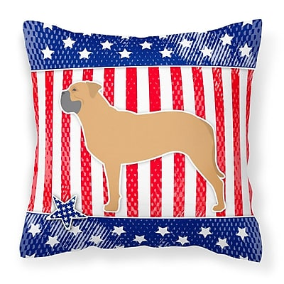 The Holiday Aisle Patriotic Indoor/Outdoor Thrown Pillow; 18'' H x 18'' W x 3'' D