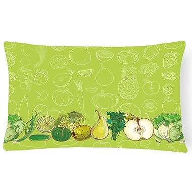 East Urban Home Fruits and Vegetables Lumbar Pillow