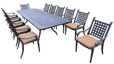 Darby Home Co Arness 16 Piece Dining Set and Bar Set