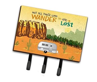 Loon Peak Ebaugh Camper Camping Wander Leash or Key Holder