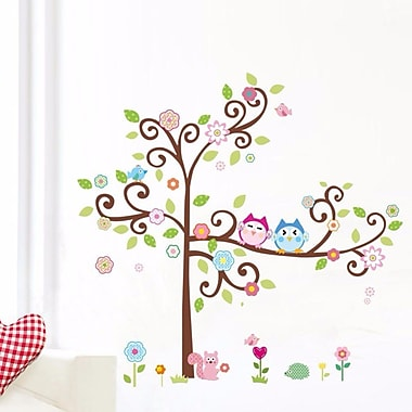 RetailSource Friendly Who is Who in the Tree Wall Decal