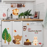 RetailSource Here and There Animals and Friends Wall Decal