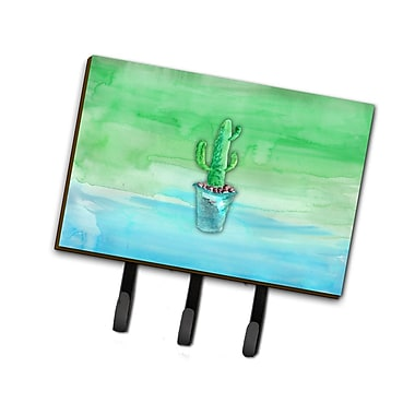 East Urban Home Cactus Watercolor Leash or Key Holder