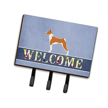 East Urban Home Basenji Welcome Leash or Key Holder