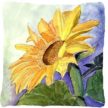 August Grove Landon Square Sunflower Indoor/Outdoor Throw Pillow