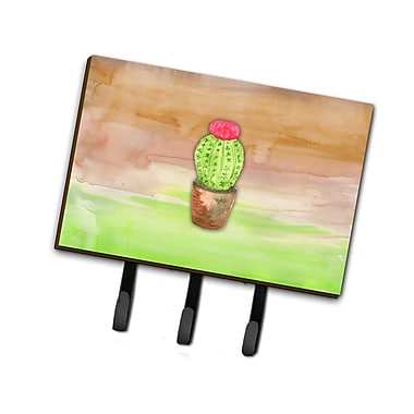 East Urban Home Cactus Watercolor Leash or Key Holder