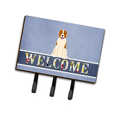 East Urban Home Central Asian Shepherd Dog Welcome Leash or Key Holder