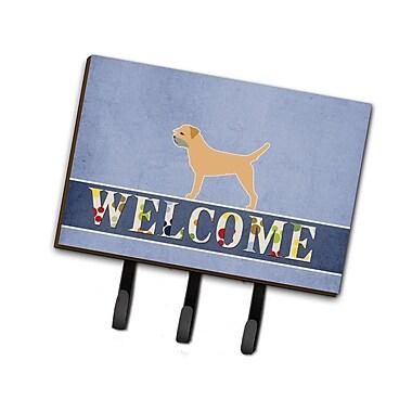 East Urban Home Border Terrier Welcome Leash or Key Holder