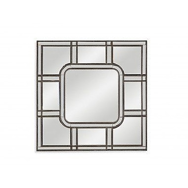 Everly Quinn Glam Square Accent Mirror