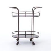 17 Stories Thalassa Oval Bar Cart