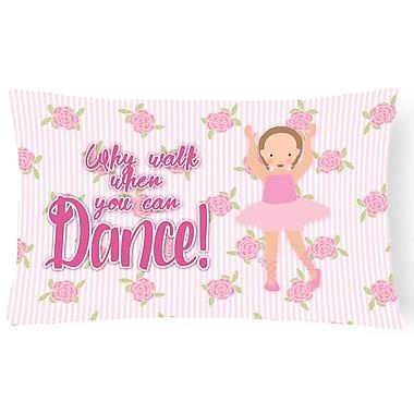 Zoomie Kids Cayla Ballet Short Hair Lumbar Pillow