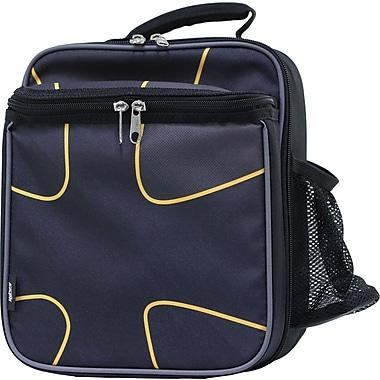 Hilroy® - Très gros sac à lunch, 6 1/4 x 9 1/4 x 10 1/4 po, 3 motifs, noir
