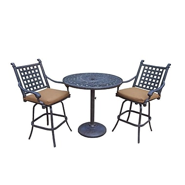 Darby Home Co Arness 6 Piece Bar Set and Lounge Set