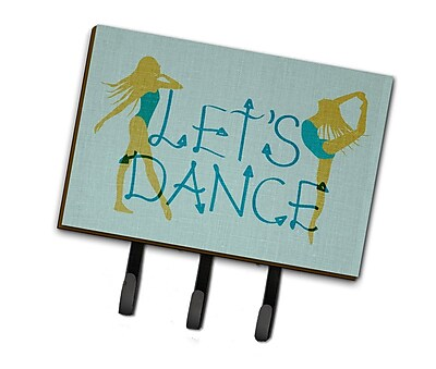 Harriet Bee Let's Dance Linen Leash or Key Holder