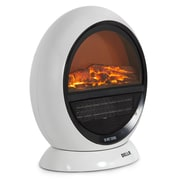 Della 3D Flame Effect Oscillating Freestanding 1500 Watt Electric Compact