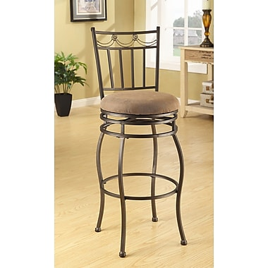ACME Furniture Tavio 29'' Swivel Bar Stool (Set of 2)