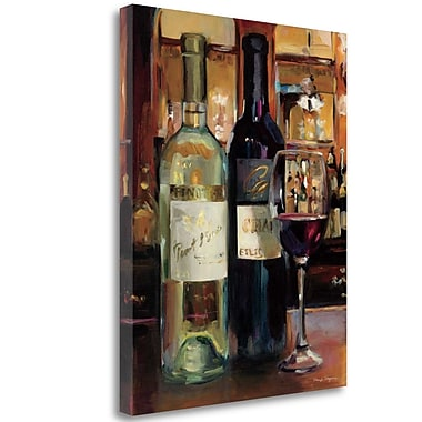 Tangletown Fine Art 'A Reflection of Wine II' Print on Canvas; 28'' H x 23'' W