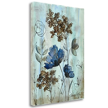 Tangletown Fine Art 'Botanical Trio III' Print on Canvas; 48'' H x 35'' W