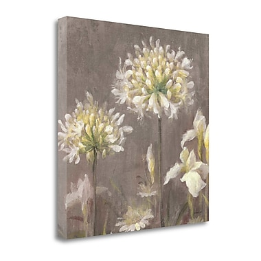 Tangletown Fine Art 'Spring Blossoms Neutral III' Print on Canvas; 20'' H x 20'' W