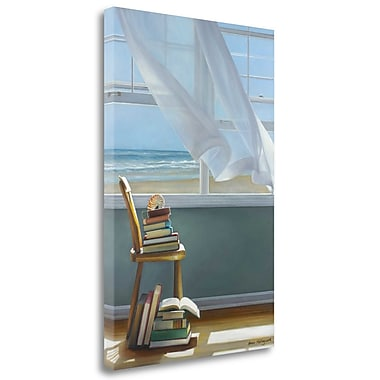 Tangletown Fine Art 'Summer Reading List' Photographic Print on Wrapped Canvas; 28'' H x 19'' W
