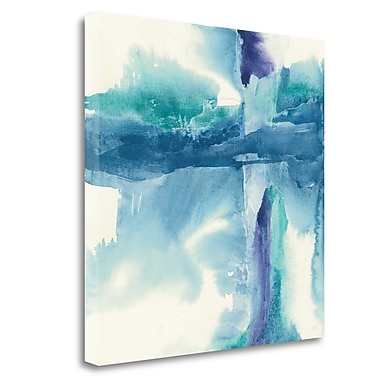 Tangletown Fine Art 'Jewel Tones II' Print on Canvas; 35'' H x 35'' W