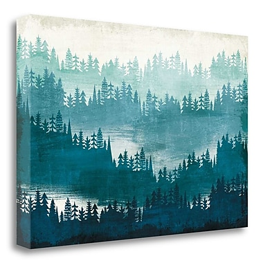Tangletown Fine Art 'Mountainscape' Graphic Art Print on Canvas; 20'' H x 29'' W