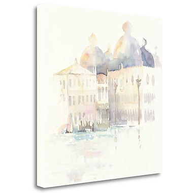 Tangletown Fine Art 'Venice Evening Square' Print on Wrapped Canvas; 25'' H x 25'' W
