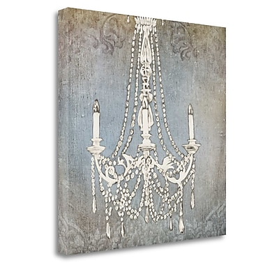 Tangletown Fine Art 'Luxurious Lights IV' Graphic Art Print on Canvas; 20'' H x 20'' W