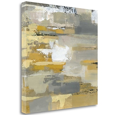 Tangletown Fine Art 'Urban Walkway III' Print on Wrapped Canvas; 35'' H x 35'' W