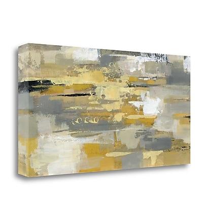 Tangletown Fine Art 'Urban Walkway' Print on Wrapped Canvas; 25'' H x 48'' W