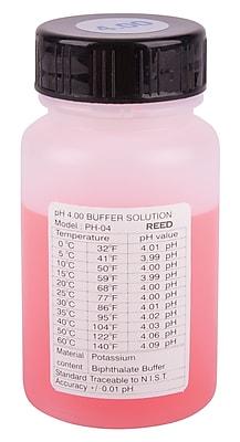 REED PH-04 pH Buffer Solution, 4pH