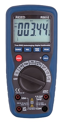 REED R5010 True RMS Waterproof Digital Multimeter