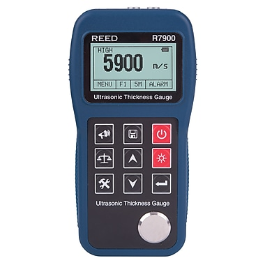 REED R7900 Ultrasonic Thickness Gauge, 11.8