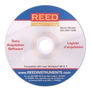 REED SW-U801-WIN Data Acquisition Software, Windows® XP and 7