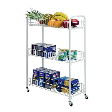 Metaltex Slim Rolling Cart (341403)
