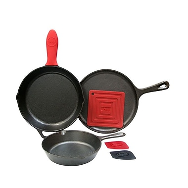Lodge Cast Iron 6-Piece Essential Starter Kit (L6SPB41)