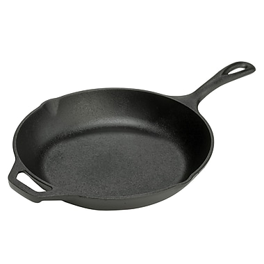 Lodge Cast Iron Chef's Skillet, 10