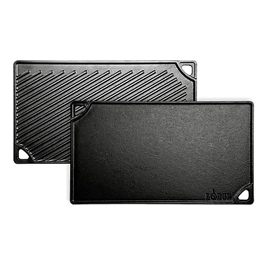Lodge Cast Iron Double Play Reversible Griddle (LDP3CN)