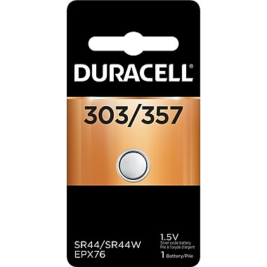 Duracell® D357B 1.5V Lithium Battery for Watches and Calculators