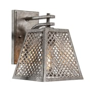 17 Stories Giusto 1-Light Metal Shade Armed Sconce
