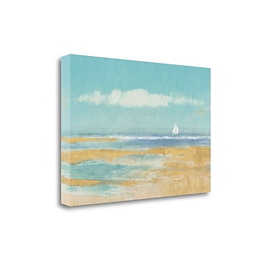 Tangletown Fine Art 'Sail Away' by Wiens James Painting Print on Wrapped Canvas; 26'' H x 39'' W