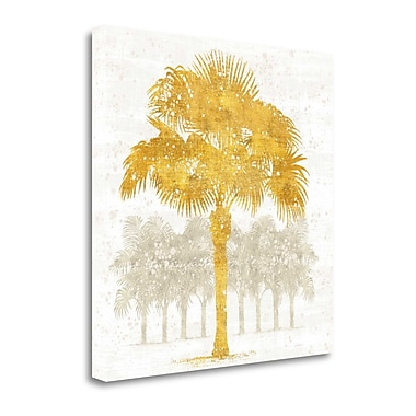 Tangletown Fine Art 'Palm Coast V' by Sue Schlabach Graphic Art on Wrapped Canvas; 25'' H x 25'' W