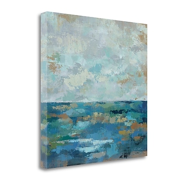 Tangletown Fine Art 'Seascape Sketches I' Print on Canvas; 35'' H x 35'' W