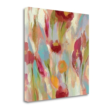 Tangletown Fine Art 'Breezy Floral III' by Silvia Vassileva Painting Print on Wrapped Canvas
