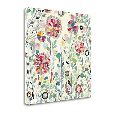 Tangletown Fine Art 'Spring Blossoms Crop' Print on Canvas; 35'' H x 35'' W